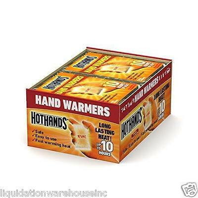 HotHands Hand Warmers 10 Hours of Heat (40 pairs)  August 2020 Expire Dates**