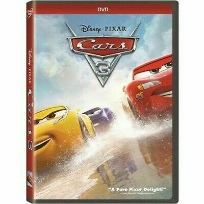 Cars 3 (DVD, Like New, Slipcover, 2017, Widescreen, Region 1)