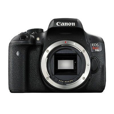 Canon EOS Rebel T6i Digital SLR Camera Body 24.2 MP Wi-Fi Brand New