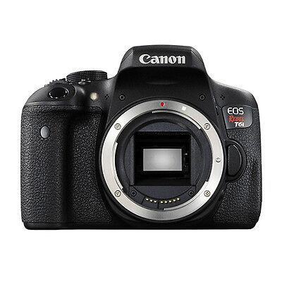 Canon EOS Rebel T6i Digital SLR Camera Body 24.2 MP Wi-Fi Brand New