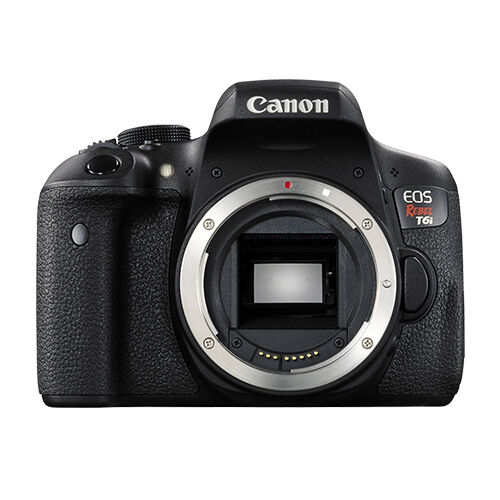Canon EOS Rebel T6i DSLR Camera (Body Only) Black 0591C001