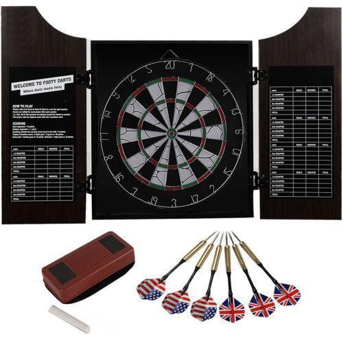 Wooden Dart Board Ebay
