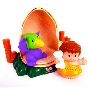 Oeuf et dinosaure Little People Fisher-Price