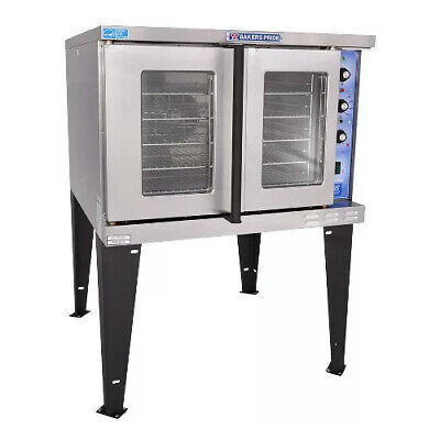 Bakers Pride Gdco-g1 Commercial Single Deck Gas Convection Oven