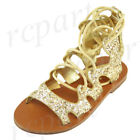 Summer Gold US Size 10 Shoes for Girls