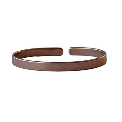 Solid Copper Classic Non-Magnetic Bracelet Relieves Joint Pain 6 3/4