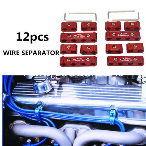 Wire Separators Ignition Divider  For Atv Spark Plug Aluminum Wire Separator