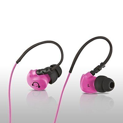 Gear Beast GearBuds Sports Water Resistant IPX5 Noise Reducing In-Ear Pink