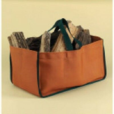 Closed End Log (71290 Minuteman Weathered Pumpkin Closed-end Log Tote, Nylon Duck )