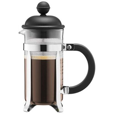 Bodum Caffettiera French Press System Kaffeebereiter 0,35l schwarz