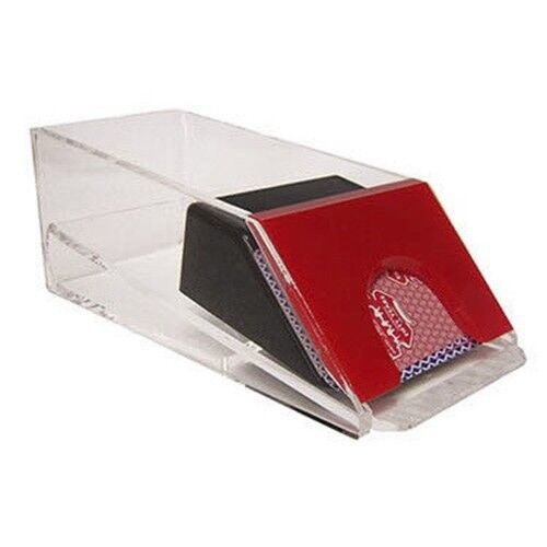 Casino Blackjack Dealer Shoe - 4 Deck Red