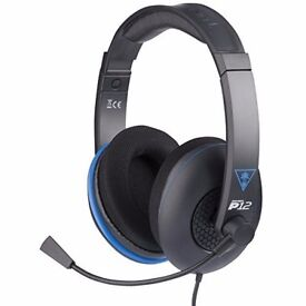 Turtle Beach Ear Force P12 Amplified Stereo Gaming Headset for Playstation 4 etc