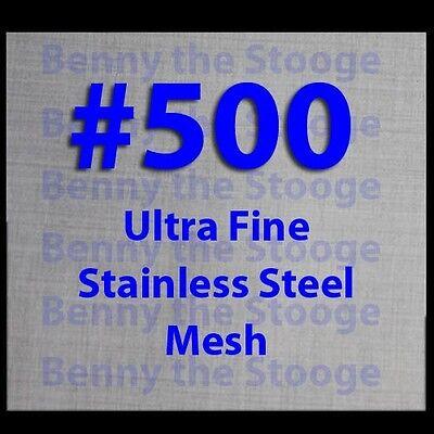 Twill Stainless Steel Wire Mesh 500 Mesh T316 Marine Grade 12x12 Ultra Fine