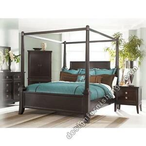 REDUCED price! Queen Size Martini four poster bedroom suite