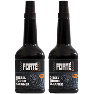 FORTE DIESEL TURBO CLEANER TREATMENT x2 400ML TWIN PACK