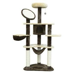 "SALE @ WWW.BETEL.CA || 60"" Cat Tree Condo Activity Centre With Hammock 