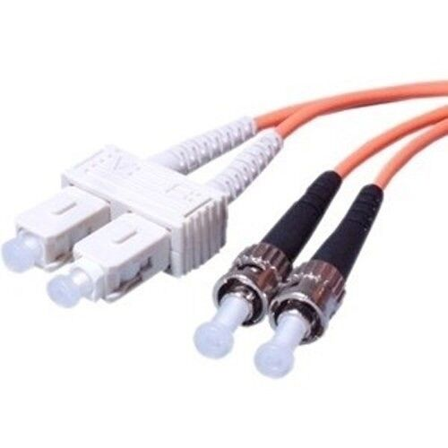 2M FC to SC Multimode 3mm 50//125 Duplex Fiber Optic Cable New 12388-2M
