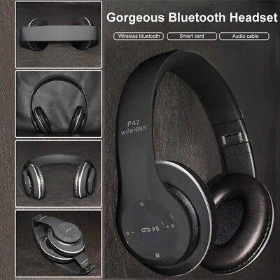 Best Wireless headphone Bluetooth Headphone with microphone FM Radio Micro SD