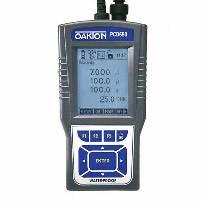 Oakton Wd-35434-02 Pcd 650 Phconductivitytdspsudotemp. Meter Only