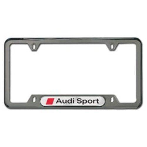 Audi Sport License Plate Frame | eBay