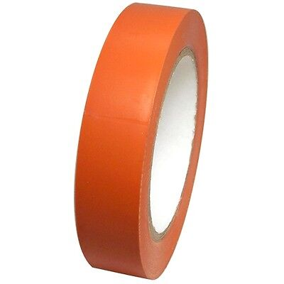 Orange Vinyl Tape 1 Inch X 36 Yd. 1 Roll. Spvc