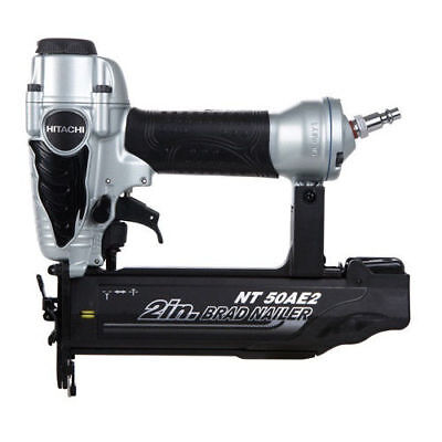 Hitachi 18 Gauge 2  Finish Brad Nailer Kit Nt50ae2 Reconditioned