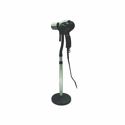 Hair Blow Dryer Styling Stand Holder Hands Free 27 to 36 In Floor Or Counter Top