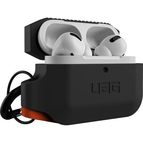 UAG Urban Armor Gear Silicone Case for Apple AirPods Pro Soft-touch Black/Orange