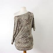 River Island Animal Print Top