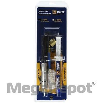 Yellow Jacket 69789 Uv Led Flashlight And Dye Kit For Acr