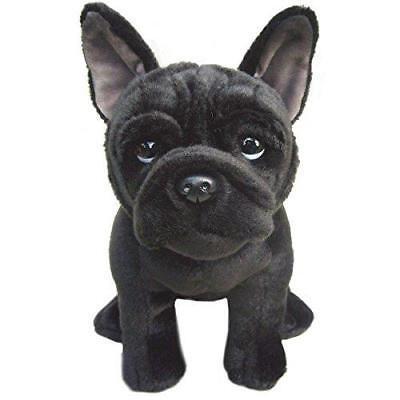 Französische Bulldogge Weich Plüsch Branded Spielzeug Plüschtier Süß Schwarz Dog ()
