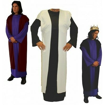 ADULT BIBLICAL ROMAN GREEK GOD COSTUME OVER ROBE OVERROBE SHEPARD JOSEPH JESUS (Greek God Costumes)