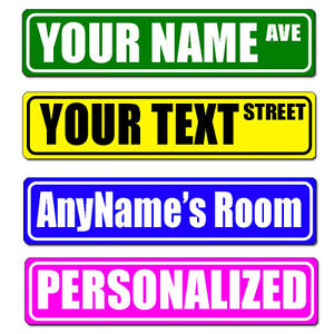 Personalized-and-Custom-Made-Metal-Street-Sign-Rustproof-With-your-text