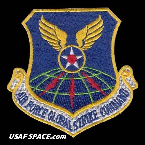 GENUINE U.S SUBDUED AIR FORCE PATCH GLOBAL STRIKE COMMAND