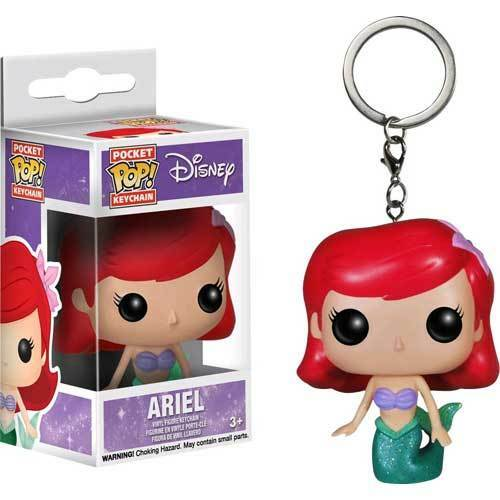 Little Mermaid - Ariel Pocket Pop! Keychain NEW Funko