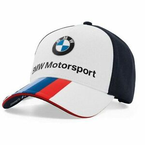 BMW-MOTORSPORT-fan-cap-logocap-Cappello-da-baseball-Unisex-Bianco-TEAM-BLU-2017