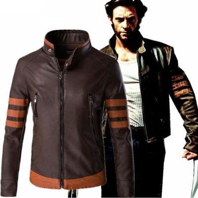 X men Wolverines James Logan Howlett cosplay costume jacket Motorcycle Jackets