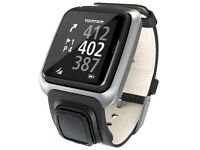 TOMTOM Golfer Premium Edition Black Leather GPS Golf Watch Device only