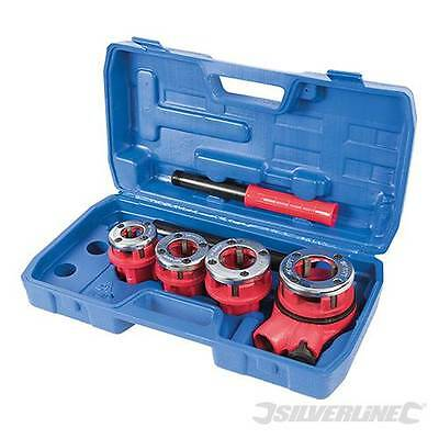 "PIPE THREADING KIT 5PCE 1/2"", 3/4"", 1"" & 1-1/4"" THREADER HAND TOOLS"