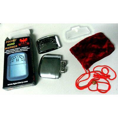 Metal Hand Warmer Petrol Type Bowls Golf  Ski Fishing Gloves