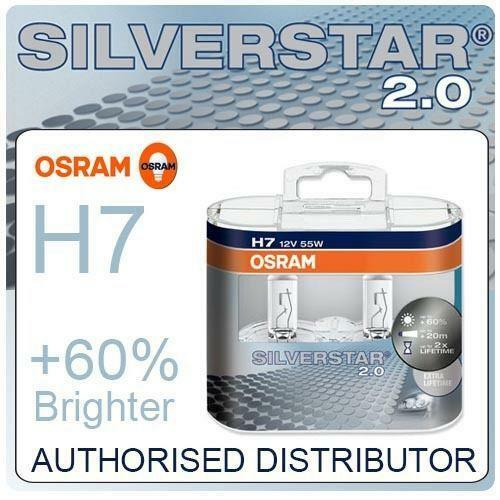 osram silverstar h7 ebay. Black Bedroom Furniture Sets. Home Design Ideas