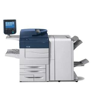 REPOSSESSED Xerox Color C60 Photocopier Copy Machien High Speed 60 PPM High Quality 2400x2400 DPI with booklet Maker