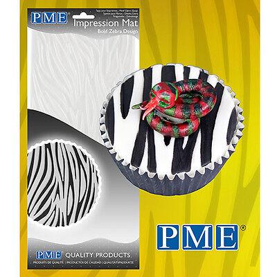Foglio Decorativo per pasta di zucchero/gomma EFFETTO ZEBRATO Zebra