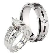 his and hers wedding ring sets - Wedding Ring Set His And Hers