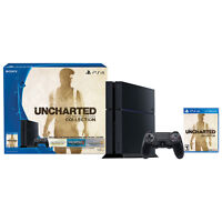 PS4 500 Gb Uncharted Collection Bundle + Grand Theft Auto V PS4