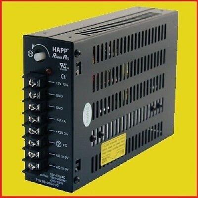 Happ 15 AMP Switching Power Supply Arcade Multicade 8 Liner Games