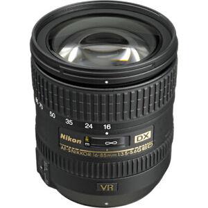 NIKON CAMERA LENS - Nikkor AF-S DX 16-85mm f/3.5-5.6G ED VR