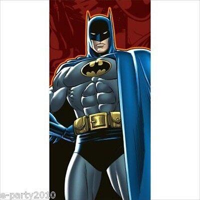 BATMAN Heroes & Villains PLASTIC TABLE COVER ~ Birthday Party Supplies DC Comics (Batman Table)