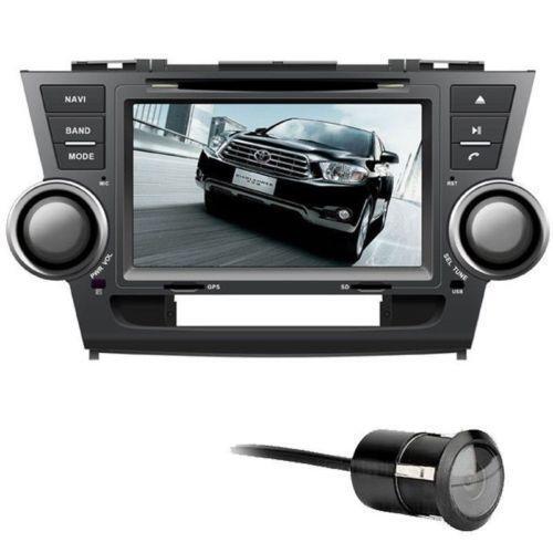 Toyota Highlander Navigation DVD