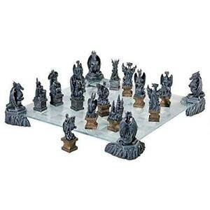 New Design Toscano CL92560 Dragons of the Realm Chess Set, PICKUP ONLY - pu3